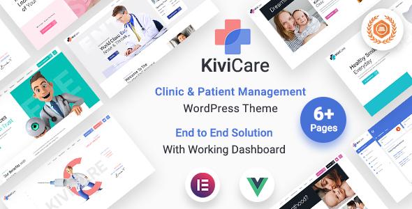 KiviCare - Medical Clinic & Patient Management WordPress Theme