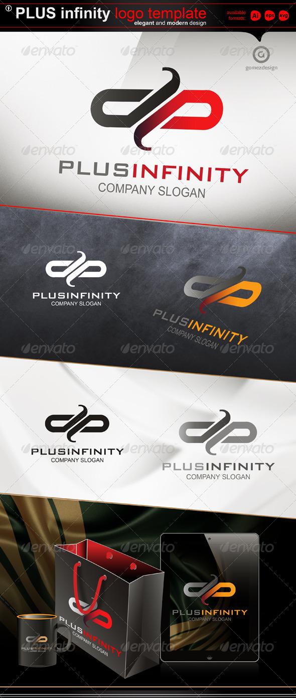 Plus infinity - Symbols Logo Templates