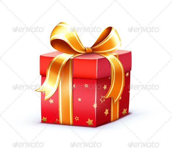 Christmas gift box  - Seasons/Holidays Conceptual
