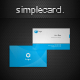 Simple Card - GraphicRiver Item for Sale
