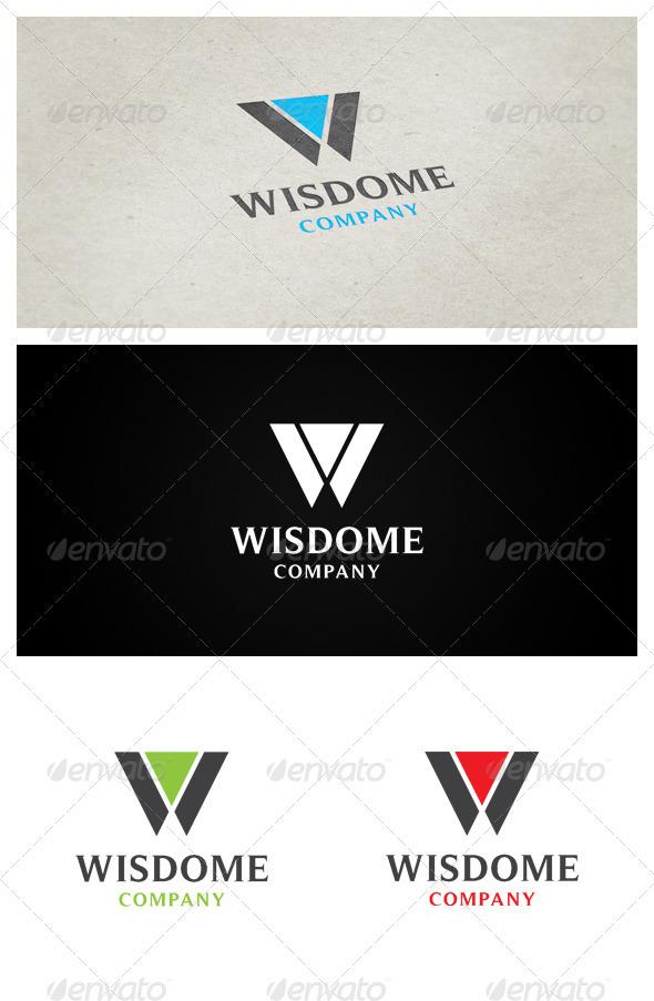 Wisdome Company - Company Logo Templates