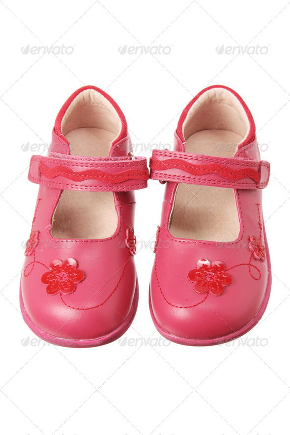 Girl Shoes - Stock Photo - Images