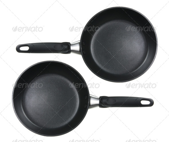 Frying Pans - Stock Photo - Images
