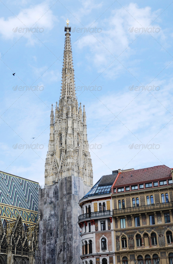 Stephansdom in Vienna - Stock Photo - Images