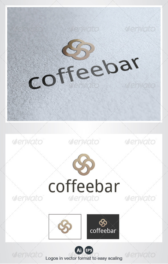 Coffee Bar Logo - Vector Abstract