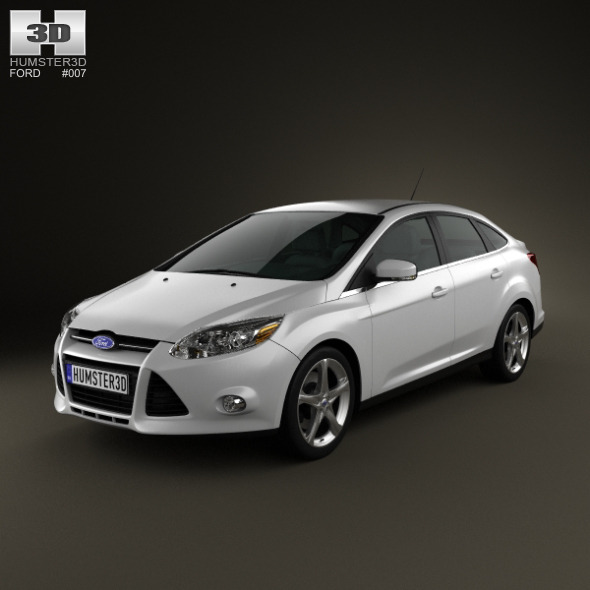 Ford Focus Sedan 2011 - 3DOcean Item for Sale