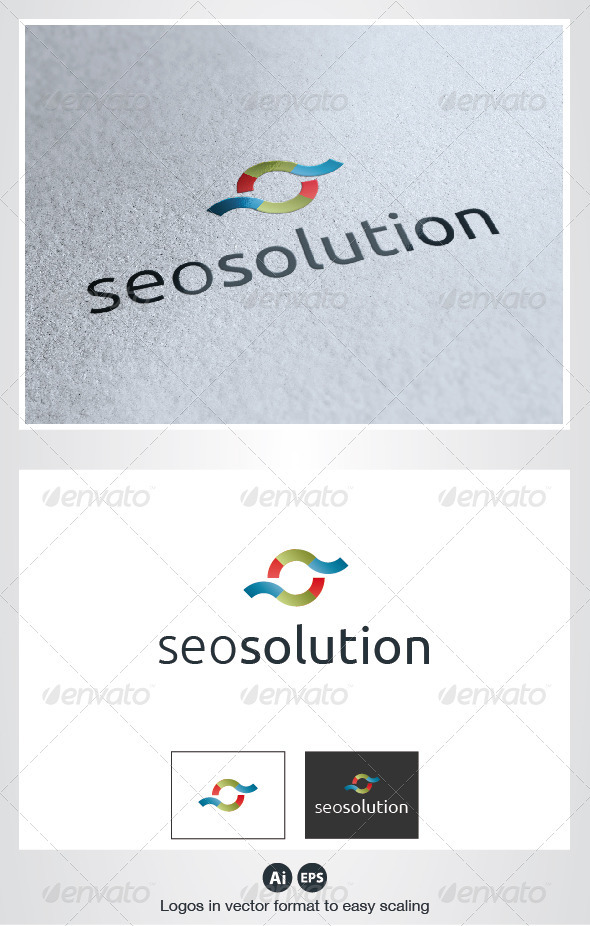 Seo Solution Logo - Symbols Logo Templates
