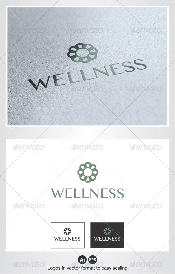 Wellness Logo - Nature Logo Templates