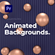 Animated Backgrounds & Titles l MOGRT for Premiere Pro - VideoHive Item for Sale