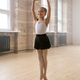 Girl preparing for a ballet performance - PhotoDune Item for Sale