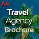 4 Pages Travel Agency Brochure - GraphicRiver Item for Sale
