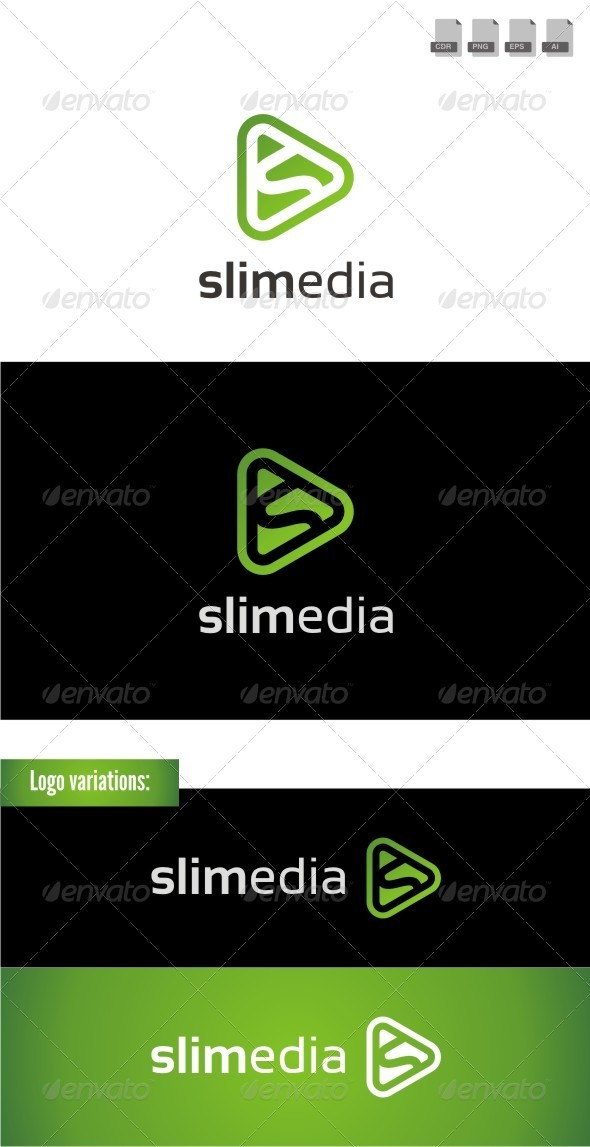 Slimedia - Letters Logo Templates