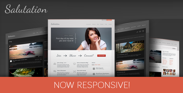 Salutation Responsive WordPress Theme