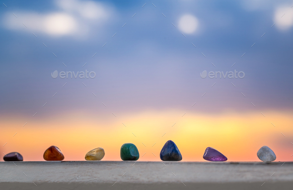 Meditation and peacefulness concept - Stock Photo - Images