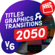FCPX Titles Graphics & Transitions - VideoHive Item for Sale