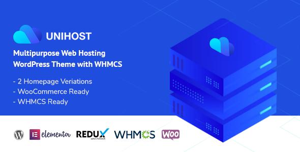 Unihost   Multipurpose Hosting WordPress Theme