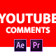 YouTube Comments Pack - VideoHive Item for Sale