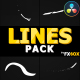 2D Cartoon Lines | DaVinci - VideoHive Item for Sale
