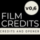 Film Credits And Opener - VideoHive Item for Sale