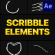 Scribble Elements 02 | After Effects