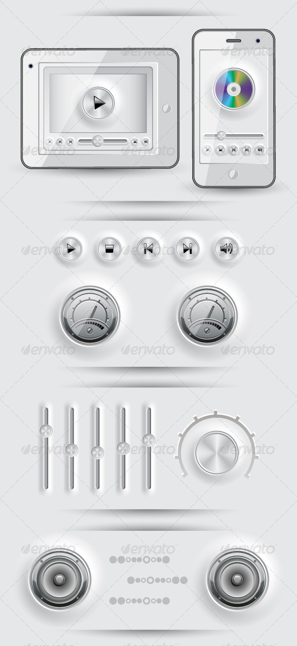Media icons and buttons - Media Technology