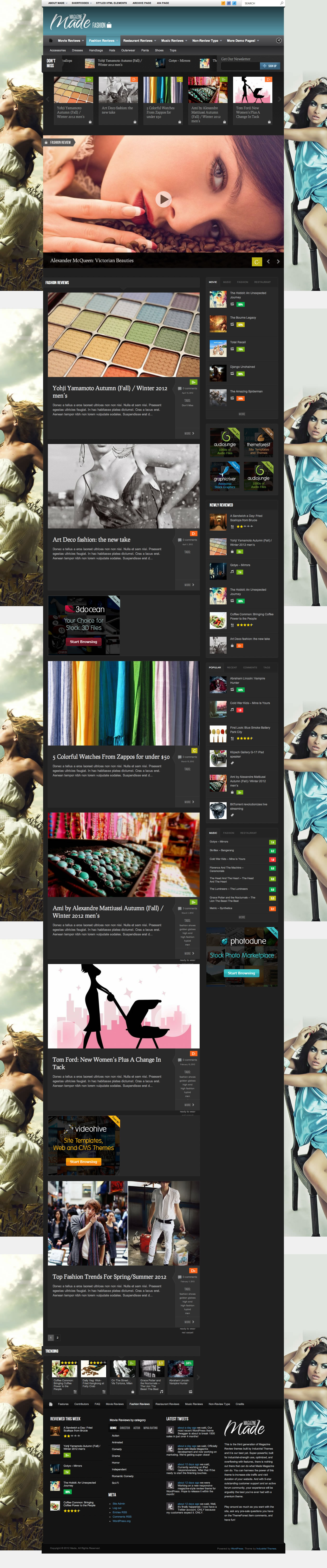 Color zen metacritic - Made Responsive Review Magazine Site Template