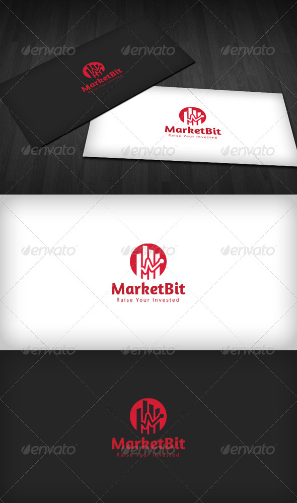 Market Bit Logo - Vector Abstract