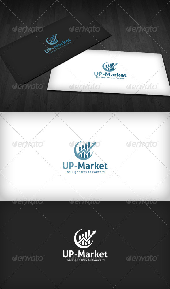 UP-Market Logo - Vector Abstract
