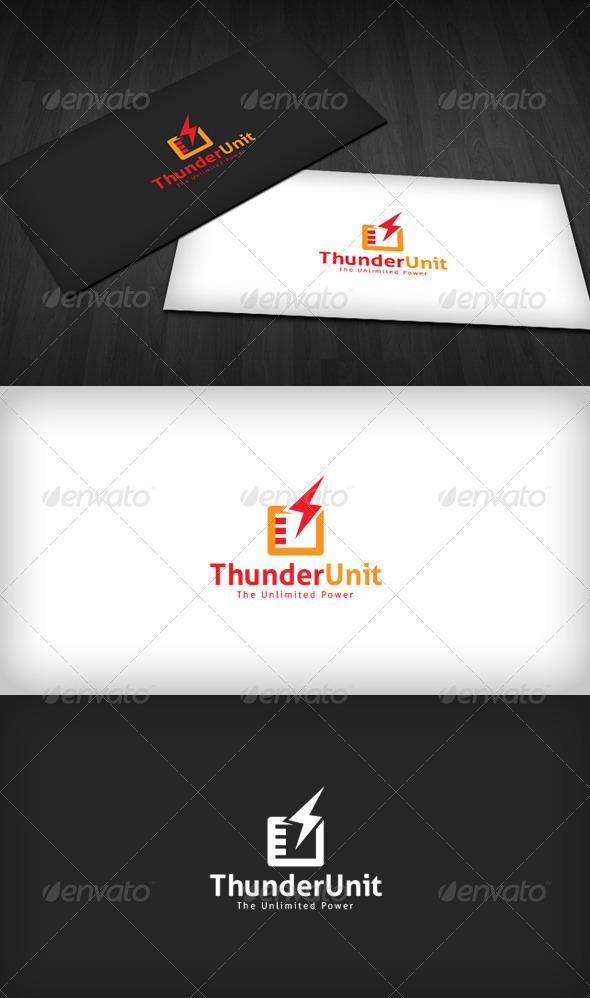 Thunder Unit Logo - Vector Abstract