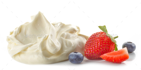 mascarpone cream cheese - Stock Photo - Images