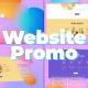 Colorful Website Promo - VideoHive Item for Sale