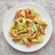portion of cesar salad with grilled prawns - PhotoDune Item for Sale