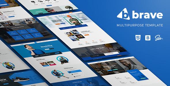 Brave - Multi-Purpose HTML5 Template