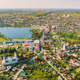 Braslav, Braslaw District, Vitebsk Voblast, Belarus. Aerial View Of Town. Famous Lakes - PhotoDune Item for Sale