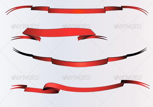 Scroll set - Decorative Vectors