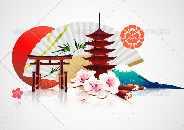 Japanese background by pixelembargo graphicriver japanese background backgrounds decorative toneelgroepblik Images