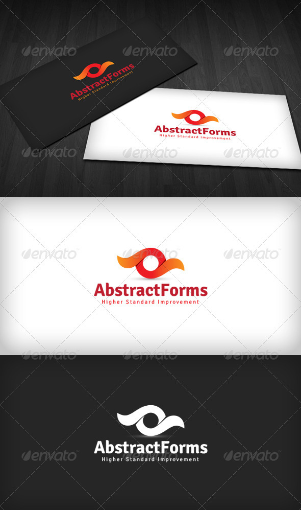 Abstract Forms Logo - Vector Abstract