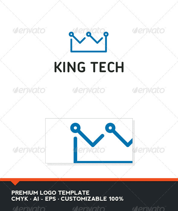 King Tech Logo Template - Objects Logo Templates