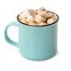 Mug of hot chocolate with marshmallows isolated on white - PhotoDune Item for Sale