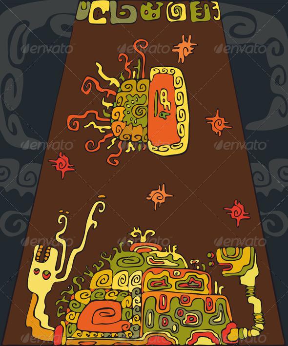 Ethnic Snail Tortoise Background - Backgrounds Decorative