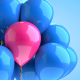 Isolated Floating Balloons 4K - VideoHive Item for Sale