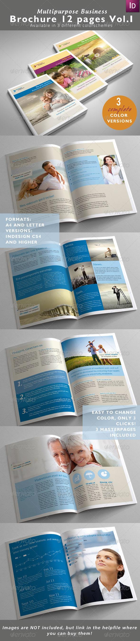 Multipurpose Business Brochure Vol. I - Corporate Brochures