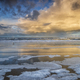 storm rainy cloud over sea coast - PhotoDune Item for Sale