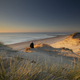 beautiful view on north sea beach at sunset - PhotoDune Item for Sale