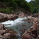 River in granite canyon in mountain forest - PhotoDune Item for Sale