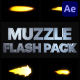 Muzzle Flash Pack 02 | After Effects - VideoHive Item for Sale