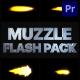 Muzzle Flash Pack 02 | Premiere Pro MOGRT - VideoHive Item for Sale