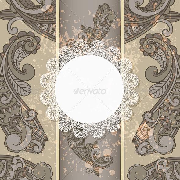 Menu Template - Backgrounds Decorative