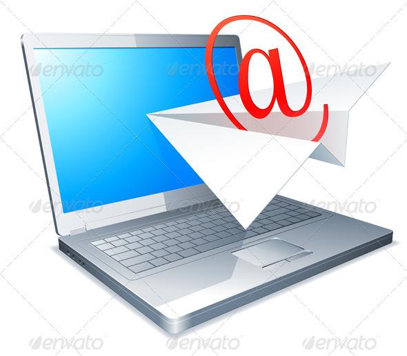 Sending E-mail Concept - Web Technology