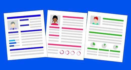 HTML5 CV & Resume Templates